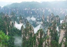 Asia:Hallelujah Mountains, China