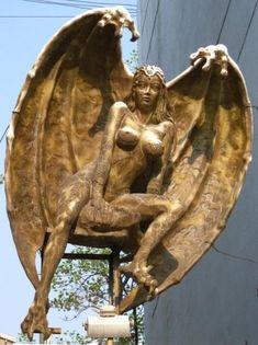 Lilith: From Demoness to Dark Goddess By Aaron Leitch (Khephera) Lillith Goddess, Chacun Son Tour, Malbork Castle, Art Sculpture, Occult Art, Goddess Art, Angels And Demons, Gods And Goddesses, Monster