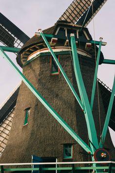 Zaanse Schans windmills, Amsterdam, Netherlands