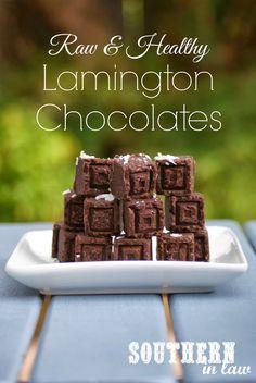 Southern In-Law: Recipe: Homemade Raw Lamington Chocolates