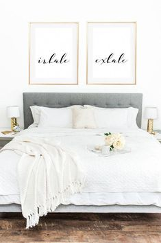 Bedroom wall decor above bed college 35 ideas for 2019 Bedroom Art, Home Decor Bedroom, Bedroom Furniture, Living Room Decor, Bedroom Ideas, Master Bedrooms, Simple Bedrooms, Gothic Bedroom, Bedroom Quotes