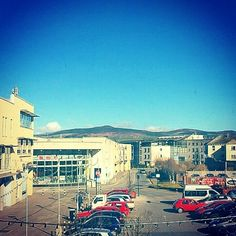 Geoff's view of the #ComeraghMountains from our #Dungarvan studios today! The Lunchbox is live until 3PM #LifeAtWLR