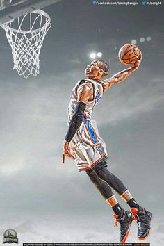 Russell Westbrook Dunk Wallpaper Thunder Who