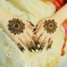 Best Dark Mehndi Design For Hands And Feet