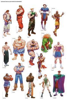 - The Art of Street Fighter Parte 2 - Taringa! Street Fighter Tekken, Street Fighter 2, Character Concept, Character Art, Character Design, Comic Books Art, Comic Art, Art Of Fighting, Fighting Games