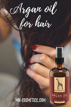 It pampers stubborn hair. Beauty Advice, Diy Beauty, Beauty Hacks, Beauty Blogs, Organic Face Products, Pure Products, Argan Oil Hair, Moroccan Oil, Loving Your Body