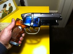 Adam Savage Blade Runner Blaster build : Side cover fabrication