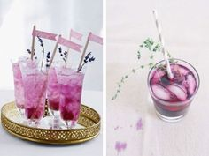 PANTONE Color of the Year 2014 - Radiant Orchid Drinks