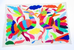 NEW Mexican Otomi fabric tribal fabric by MexFabricSupplies, $29.50