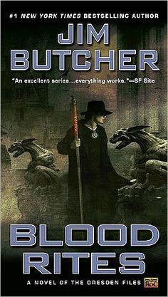 Blood Rites (Dresden Files Series #6)
