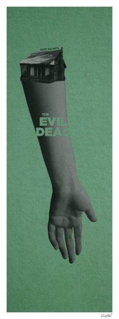 The Evil Dead (1981) [648 x 1728] [OC]