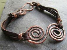 hammered copper bracelet - Google Search