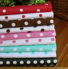 Cotton Fabric square fat quarter bundles / by PreciousSerenity, £12.99