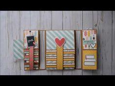 Mini Albums Scrap, Mini Scrapbook Albums, Disney Scrapbook, Baby Scrapbook, Scrapbook Cards, Photo Album Scrapbooking, Scrapbooking Layouts, Book Crafts, Paper Crafts