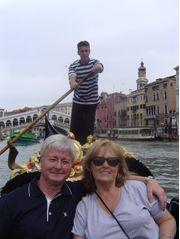 Beverly and Doran in Venice