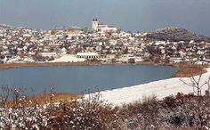 Balaton, Tihany with the inner lake. Interesting Information, Homeland, Czech Republic, Grand Canyon, Tourism, Paradise, Culture, River, Explore