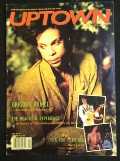 Prince UPTOWN Magazine Issue 13 Summer 1994 Complete US Discography Beautiful