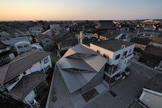 'facing true south' by nakae architects, kanaishi, japan