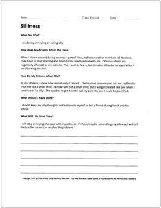 Middle school detention essay