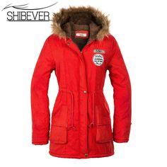 New 2017 Women Jacket Coats Warm Solid Hooded winter Women Coat parka  fashion Slim Collar Jackets Female outwear JT142