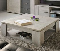 Table basse couleur bois gris contemporaine PEGAZE SOFAMOBILI-94