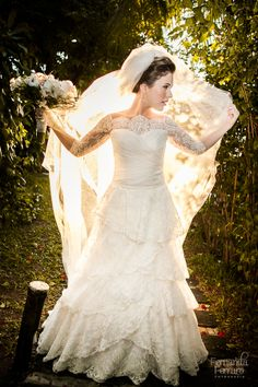 Noiva - Vestido Carol Hungria