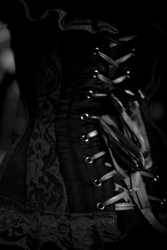 goth corset, girl