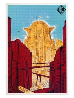 Metropolis (1927) - Posters på AllPosters.se