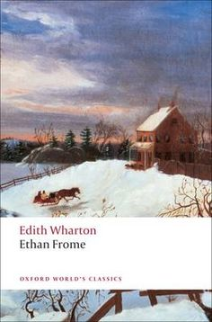 Desktop Retreat - 'Ethan Frome' by Edith Wharton. Very downbeat, but one of my favorite books of all time.