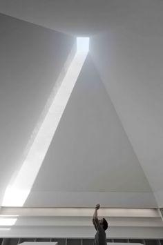 Architecture of the Week: Paula Rego Museum, Cascais, Portugal; by Eduardo Souto de Moura Shadow Architecture, Contemporary Architecture, Interior Architecture, Minimal Architecture, Interior Design, Light Study, Light Well, Museum, Built Environment