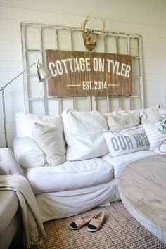 Cozy neutral cottage