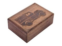 Handmade Wooden Keepsake Storage Trinket Box with Dark Brown Vintage Car Design Jewelry Makeup Tools Holder * Be sure to check out this awesome product. (This is an affiliate link) #DecorativeAccessories