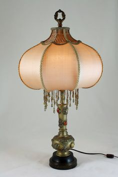 Great shade style: Vintage Lamp  Moroccan  Turkish Lantern  Jeweled by LuxeLamps, $650.00