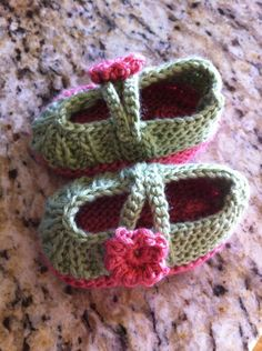 Baby Slippers :) By Crystal