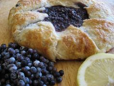 ELDERBERRY CROSTATA WITH LEMON RECIPE.  This delicious rustic hand-formed crostata is both humble and elegant in form and flavor.  The lemon and cinnamon accentuate the wild elderberry flavor perfectly, and the crisp, buttery crust makes the entire experience a delight.  Tart, sweet, and crunchy, this rustic pie is sure to become a staple on your Fall menu.  http://thebaldgourmet.com/recipe-elderberry-crostata-with-lemon/