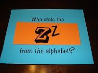 under the alphabet flap is a picture of the students that begin with that letter. So under Z is a picture of Zachary