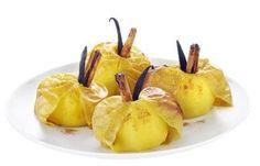 Pommes au four à la vanille et à la cannelle