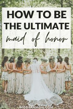Just what does a maid of honor do? We cover everything you need to know in our comprehensive maid of honor duties checklist, timeline included. Maid If Honor Duties, Bride Gifts From Maid Of Honour, Maid Of Honor Responsibilities, Maid Of Honor Speech, Maid Of Honour Dresses, Matron Of Honour, Maid Of Honor Dress Different, Wedding Day Gifts, Friend Wedding