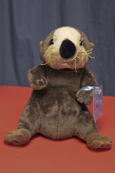 Webkinz Sea Otter Plush Ganz Stuffed Animal NWT Retired UNOPENED CODE #Webkinz