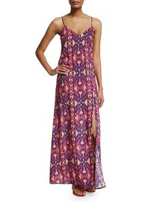 Capadocia Printed Maxi Dress Coverup