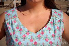 Robe Magnolia : le patron gratuit d'Atelier Vicolo nº6 | Vie de tissus