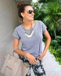 Printed Jeans And T-shirt! | O Fantastico Mundo De Nicole  #