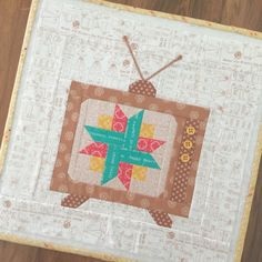 "6"" and 12"" Vintage T.V. Block - New Tutorial!!! 