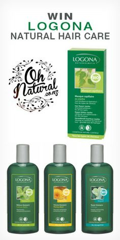 Win #Logona #Natural #Hair #Care products! #competition