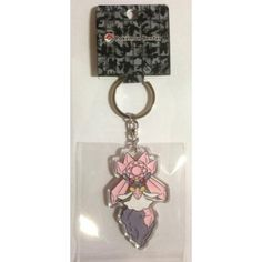 Pokemon Center 2014 Diancie Character Keychain