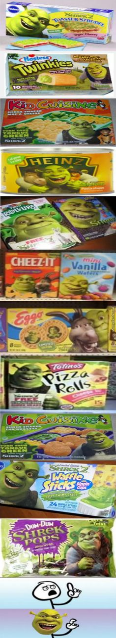 Eat Your Shrek Foods