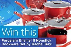 Enter to win Rachel Ray Cookware