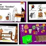 """SMARTBoard Music Lesson: 3 Musical """"Goodies"""" for Halloween"""