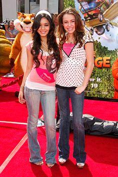 Vanessa Hudgens and Miley Cyrus, 2006