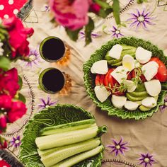 Vegetarian buffet from Hummus & Pannkaka